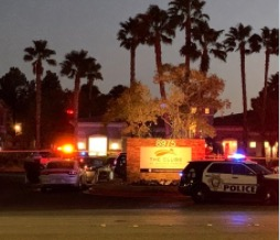 Clubs at Rhodes Ranch Apartment Complex Shooting in Las Vegas Fatally Injures One Man.