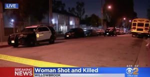 Los Angeles, CA Apartment Complex Shooting Claims Life of One Woman.
