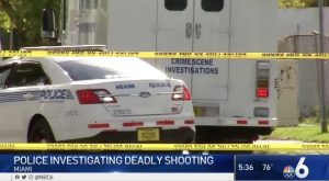 Miami, FL Apartment Building Shooting Fatally Injures One Young Man.