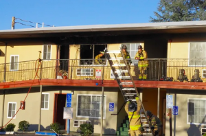 Sundial Lodge Fire in Redding, CA Leaves Woman Seriously Injured.