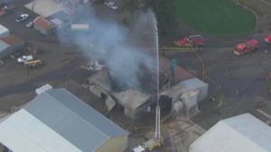 Portland, OR Seed Cleaning Facility Fire Claims Life of One Worker.