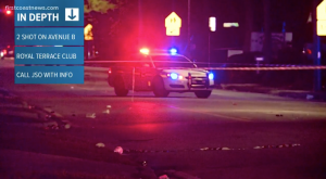 Royal Terrace Men's Club Shooting in Jacksonville, FL Leaves Two Men Injured.