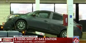 Circle K Gas Station Shooting in Orlando, FL Leaves Two Teens Injured.