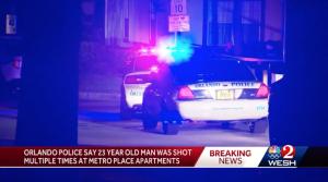 Metro Place Apartments Shooting in Orlando, FL Injures One Man.