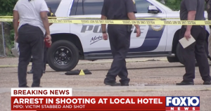 Port City Motel Shooting in Mobile, AL Leaves One Man Seriously Injured.