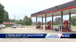 Texaco Gas Station Shooting in Jackson, MS Leaves Two Teens Injured.