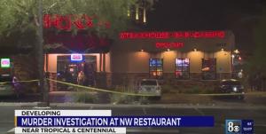 Kesean Jaemar Dedmon Fatally Injured in Las Vegas, NV Restaurant Shooting.
