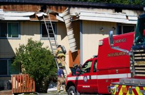 Alan Borowski, Linda Borowski Fatally Injured in Eagle River, AK Apartment Fire.