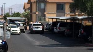 Las Vegas, NV Apartment Complex Shooting on North Jones Boulevard Leaves Two People Injured.